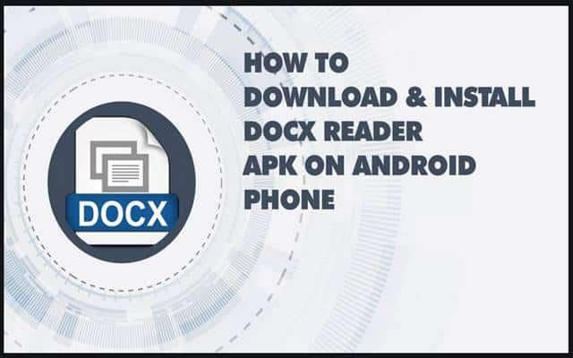 Docx Reader APK For PC
