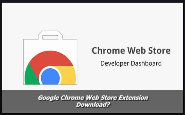 Google Chrome Web Store Extension Download