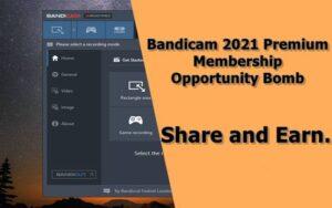 Bandicam 2021 Premium Membership