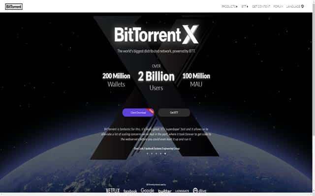 BitTorrent Login