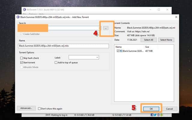 How to Use BitTorrent 4
