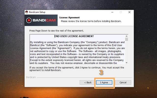 How to install Bandicam 3