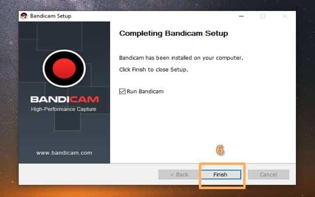 How to install Bandicam 6